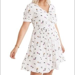 863f9c1eeb2 Madewell Dresses - Madewell Daylily Pintuck Dress Sweet Blossoms